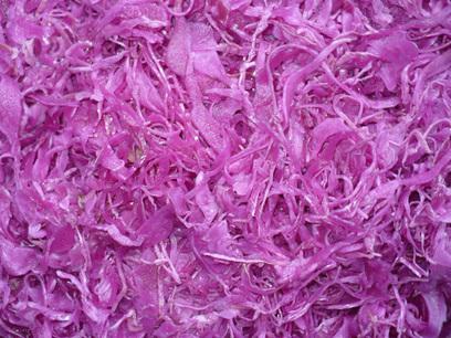 lilakáposzta saláta